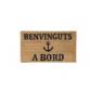 "Mat ""Benvinguts A Bord"" with anchor by Artesania"