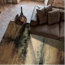 Leather rug printed by Adriani&Rossi