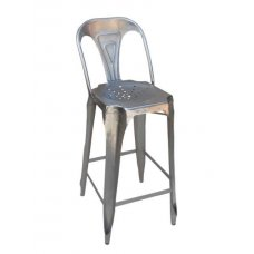 "Chair ""bar,  steel "" by Antic Line"