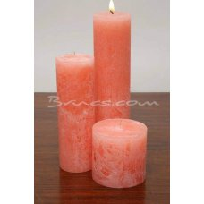 Salmon candle by Brucs
