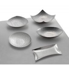 Oval small tray sterling silver A-Studio by Zanetto